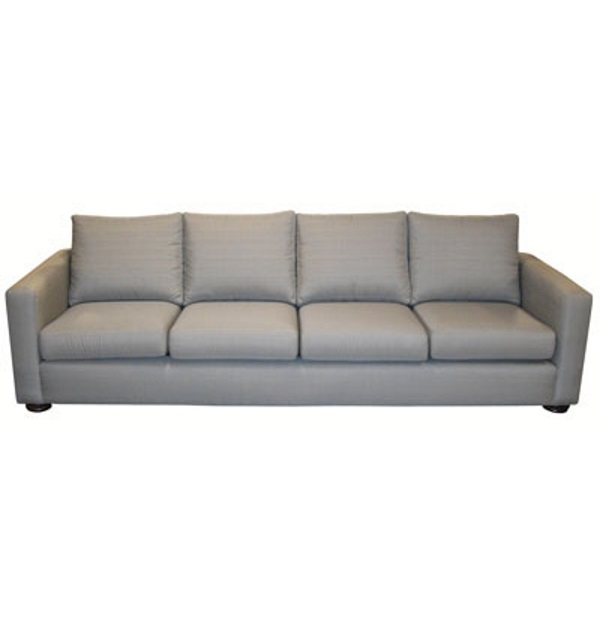Four Cushion Sofa With Track Armstest