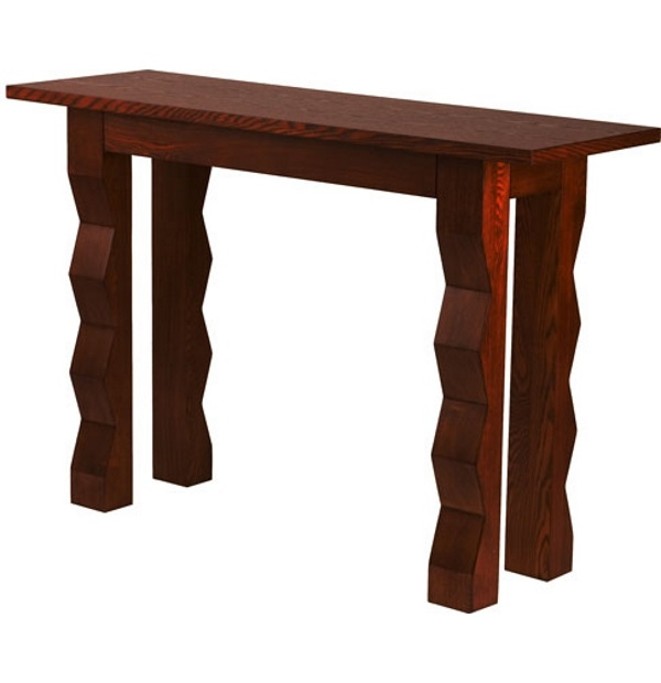 Tikal tall console tabletest for Extra tall sofa table