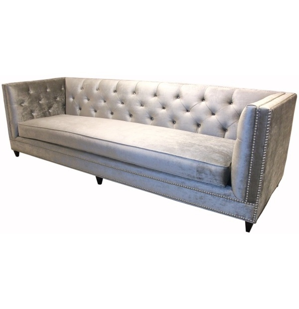 Tufted Back Bench Seat Tuxedo Sofatest