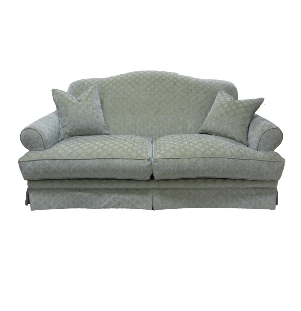 Camelback Sofa With Skirt