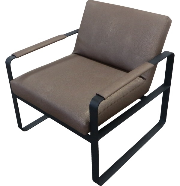 Metal Frame Leather Chairtest