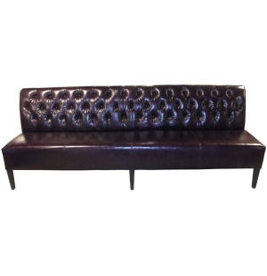 Dining Bench Long Tufted Banquette